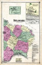 Delaware, Stockton, Sergeantsville, Hunterdon County 1873